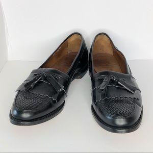 Allen Edmonds Cody Tasseled Loafers Black Size 12
